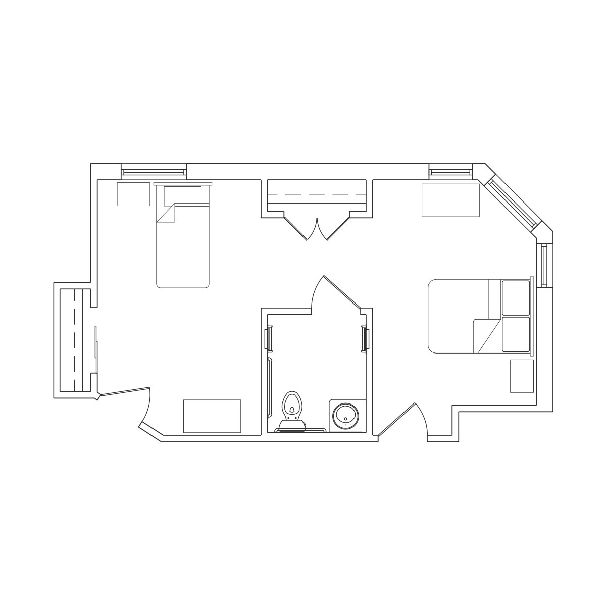 Companion Suite Floor Plan