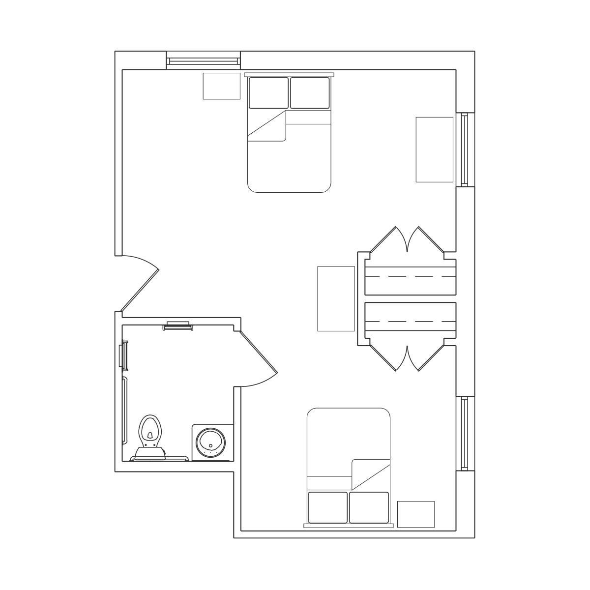 Companion Suite 3 Floor Plan