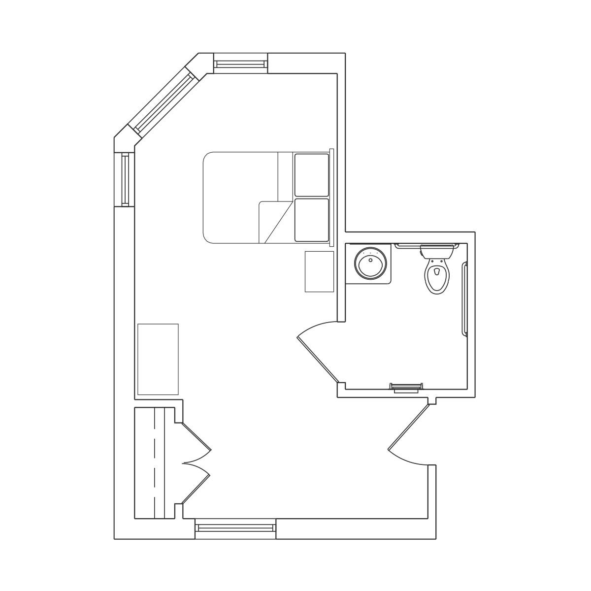 Extra Large Bedroom Floor Plan